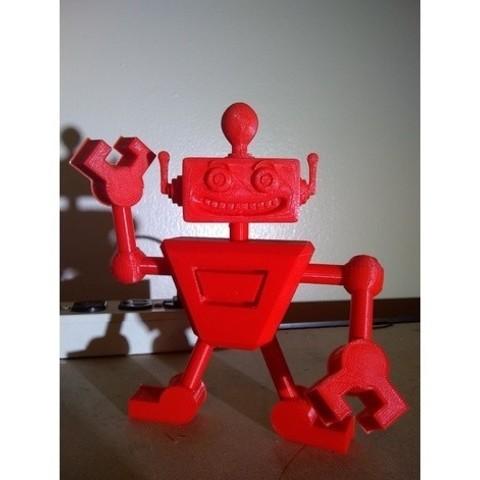 Télécharger modèle 3D gratuit Lil' Whackbot, DataDink