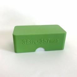 Descargar archivo STL Caja de municiones 357 MAGNUM • Diseño imprimible en 3D, balky