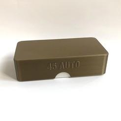 Descargar archivo STL Caja de municiones 45 ACP • Objeto para imprimir en 3D, balky