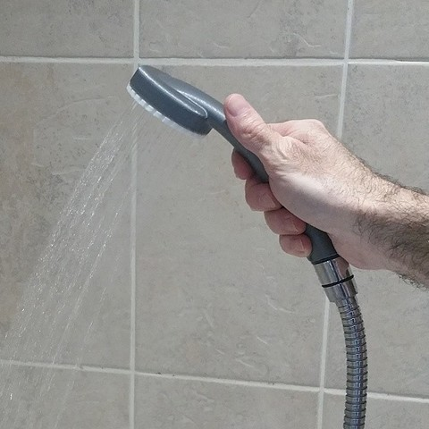 Download free 3D printing models Shower head with interchangeable diffuser, pfleutot