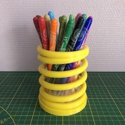 Descargar modelos 3D gratis Taza de lápiz de primavera, balky