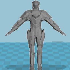 Free 3D printer designs Armor Terran Task Force, ccjr