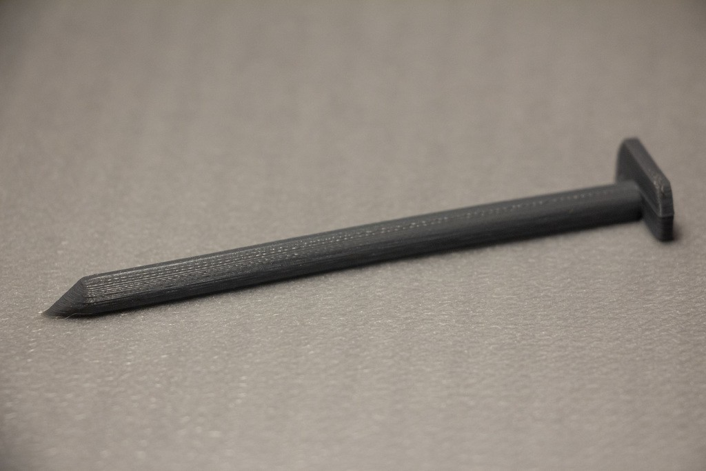 6aac3869317017480b8df6f84ecf8399_display_large.JPG Download free STL file Caulk Tube Nail Plug • 3D printable design, Mr_Tantrum
