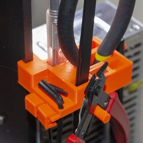 Download free 3D printing models Prusa MK3 Tool Holder, Mr_Tantrum