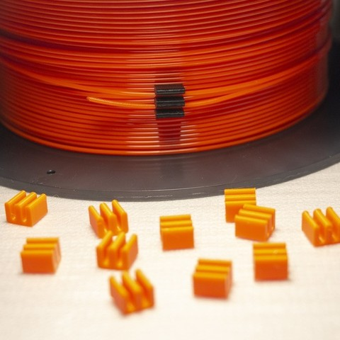 Download free 3D model 1.75mm Filament Clip (styled after 3D Solutech filament clips), Mr_Tantrum