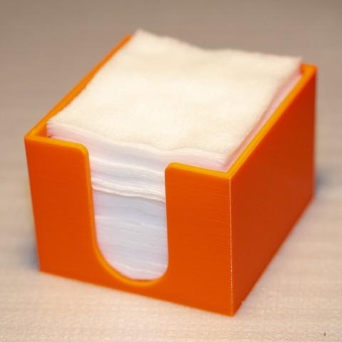 Télécharger fichier impression 3D gratuit Boîte de tampons de nettoyage, Mr_Tantrum