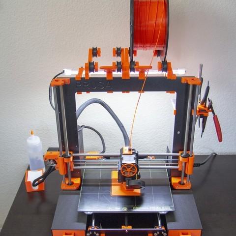 Télécharger fichier imprimante 3D gratuit Barre lumineuse Prusa MK3, Mr_Tantrum