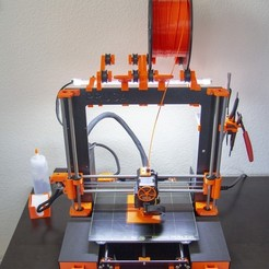 Download free 3D printer designs Prusa MK3 Light Bar, Mr_Tantrum