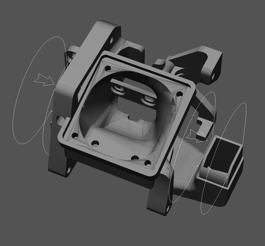 a8ba96117f38ce0e420319e4ee9bb446_display_large.jpg Télécharger fichier STL gratuit CReality (E2/3/4, CR10) double ventilateur de refroidissement 5015 pièces avec support BLTouch • Objet pour imprimante 3D, artspam