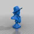 Télécharger fichier STL gratuit Buste d'Oscar Wilde • Plan à imprimer en 3D, artspam