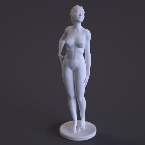 Download free 3D printer templates Nude Female Sculpture, diijaii