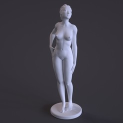 Free STL file Nude Female Sculpture, diijaii