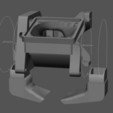 Download free 3D model CReality (E2/3/4, CR10) dual 5015 part cooling fanduct with BLTouch mount, artspam