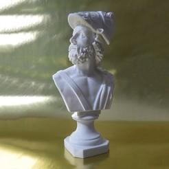 Download free STL Bust of Ajax, artspam