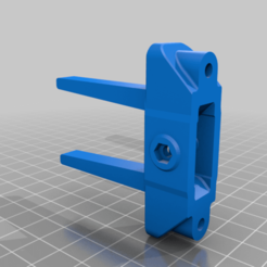Anet_X_Axis_Tensioner_wide.png Download free STL file Anet A8 X Belt Tensioner - Wide Remix • 3D printing model, Aaron_F