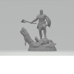 Download free 3D printer files god of war kratos old, pinel07
