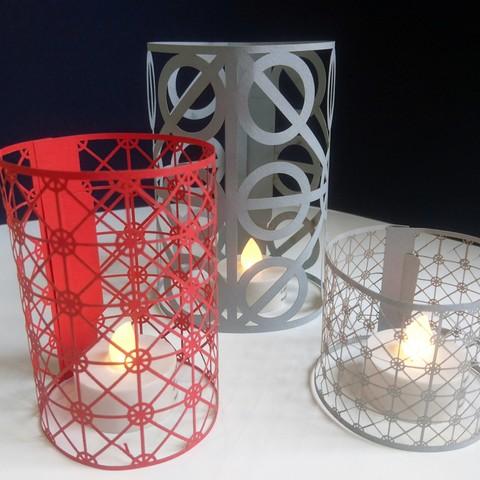Download free 3D printer model Paper candle jar, propulseursa