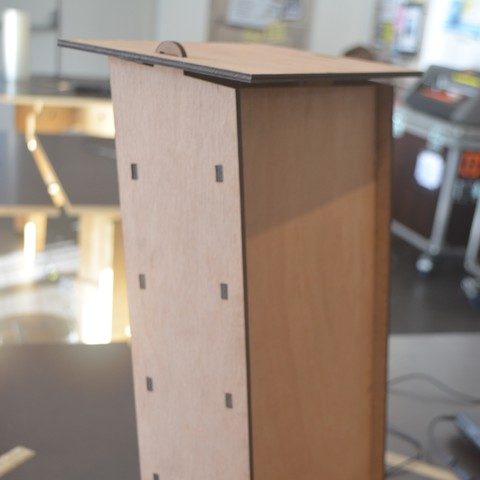 Download free 3D printer files Bat nesting box, propulseursa