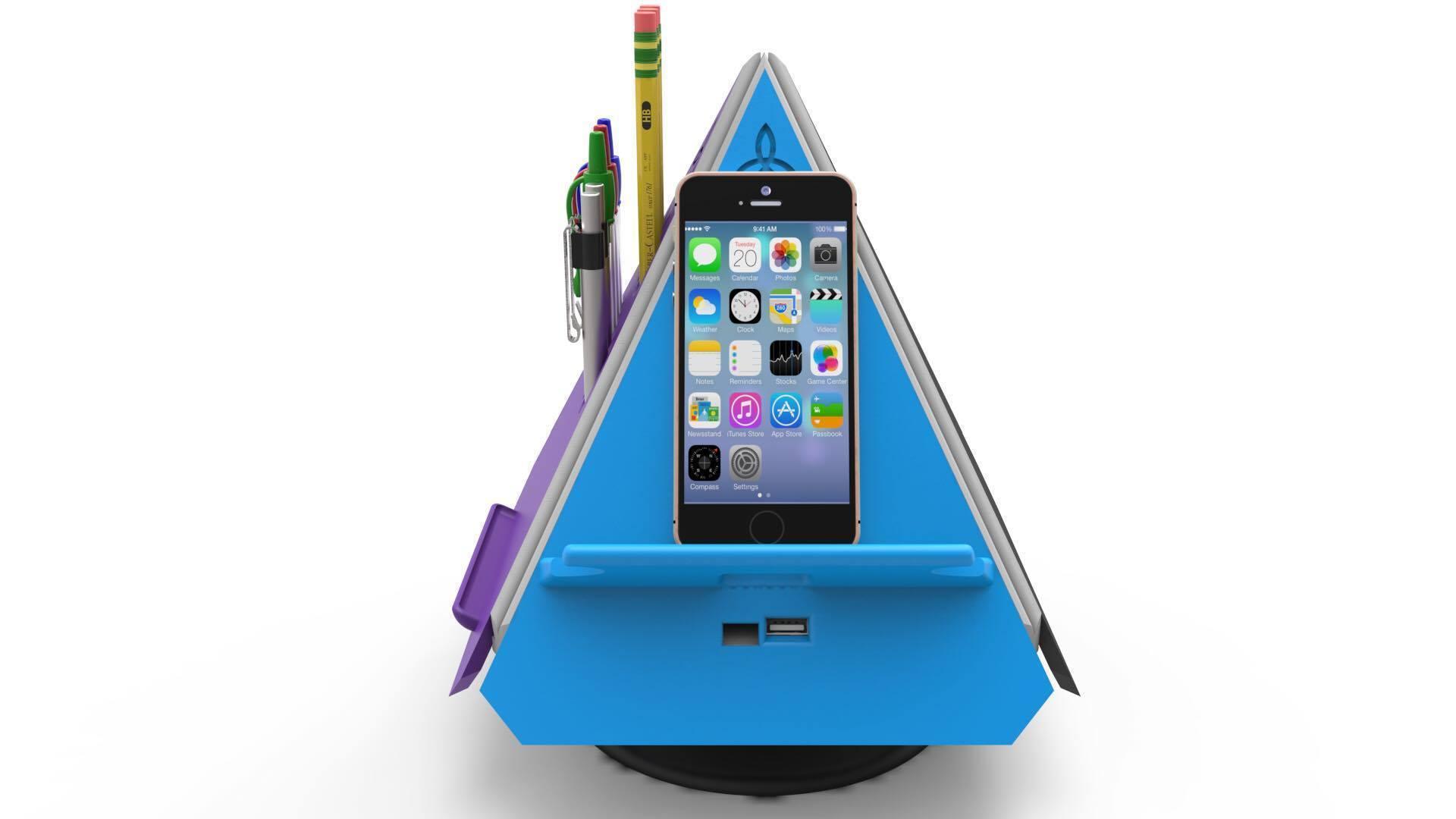 22292414_1458263564249589_1536827560_o.jpg Download free STL file Prism - Smart Desk Assistant • 3D print model, TrinityCraftsInc