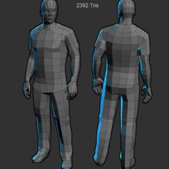 Descargar modelo 3D humano, jurjanbakhuis2005