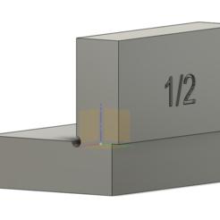 Télécharger fichier STL Espace de travail du bois 1/2 pouce (0,5 pouce) • Objet à imprimer en 3D, holzer06004