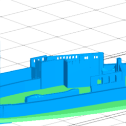 burg-ruin.PNG Download free STL file Munzenburg Fortress • 3D printing object, holzer06004