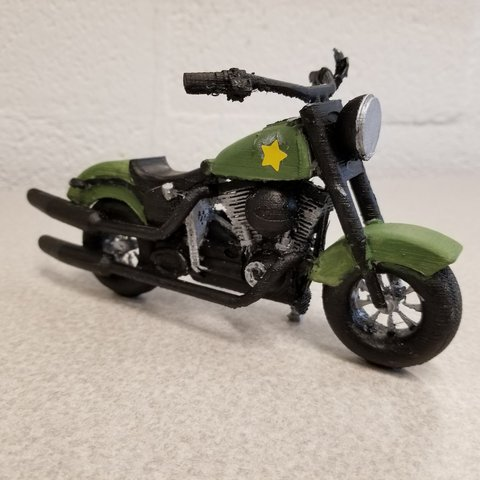 3D printer files Harley-Davidson Softail Slim S, 3DCobra
