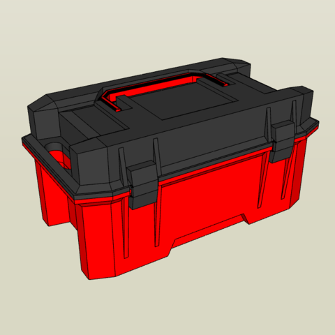 3D printer models 1/10 Toolbox w/ Tools, FrozenRC
