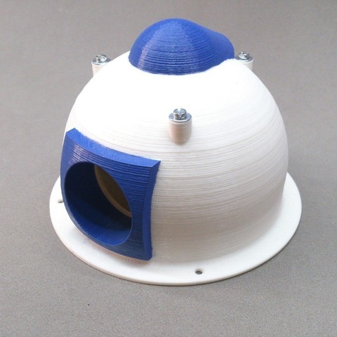 Free 3D printer designs New head Boat with fan and window camera, Tanleste46