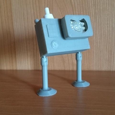 DSC_0915_display_large.JPG Download free STL file Action Cam LED Lamp and Torch • 3D print design, Tanleste46