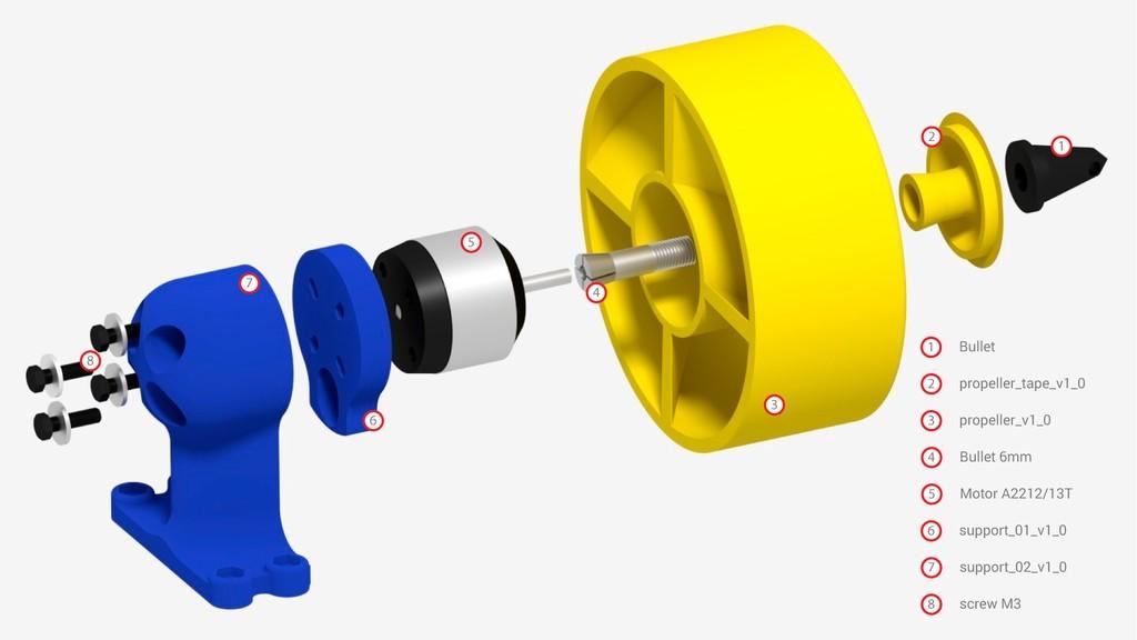 NewMotor_display_large.jpg Télécharger fichier STL gratuit JALC Moteur de bateau • Modèle pour imprimante 3D, Tanleste46