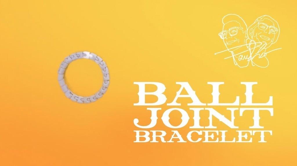 BALLJOINTBRACpic2_display_large.jpg Télécharger fichier STL gratuit Bracelet à rotule • Modèle pour impression 3D, Tanleste46