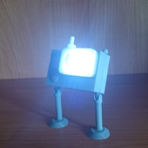 DSC_0907_display_large.JPG Download free STL file Action Cam LED Lamp and Torch • 3D print design, Tanleste46