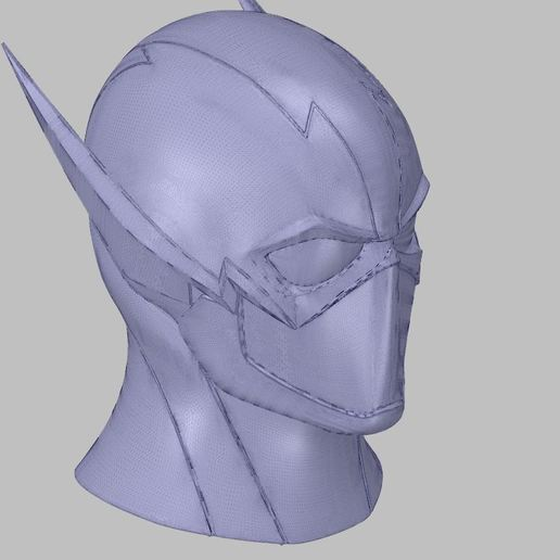 1.JPG Download free OBJ file FlashCW helmet • Object to 3D print, SanderDesign