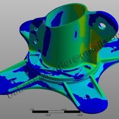Download free 3D printer designs Structural monitor bracket, SanderDesign