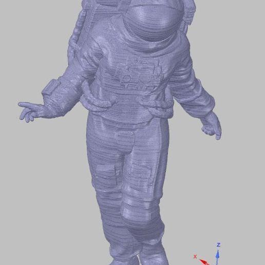 astronaut.JPG Download free OBJ file astronaut • 3D printable template, SanderDesign