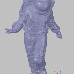 astronaut.JPG Download free OBJ file astronaut • 3D printable template, SanderDesign