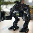 Download free 3D printer designs FanArt Battletech Marauder 3D Model Assembly Kit, polygroid