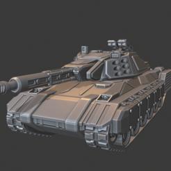 Felix_Front.png Download free STL file Felix Heavy Tank • 3D print object, cgloewenherz