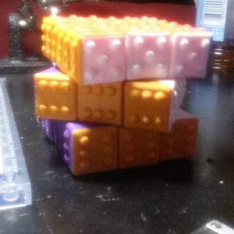 Free 3D printer model CUBE! Fully Functional... EASY PRINT... 3x3x3 cube, Balkhagal4D