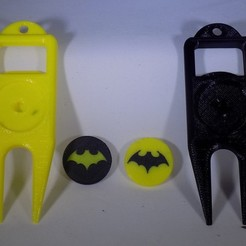 Download free 3D printer files BATMAN Ball Marker, Balkhagal4D