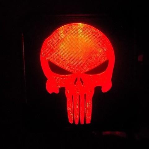 4_display_large.JPG Download free STL file Punisher LED Light/Nightlight • 3D printer object, Balkhagal4D