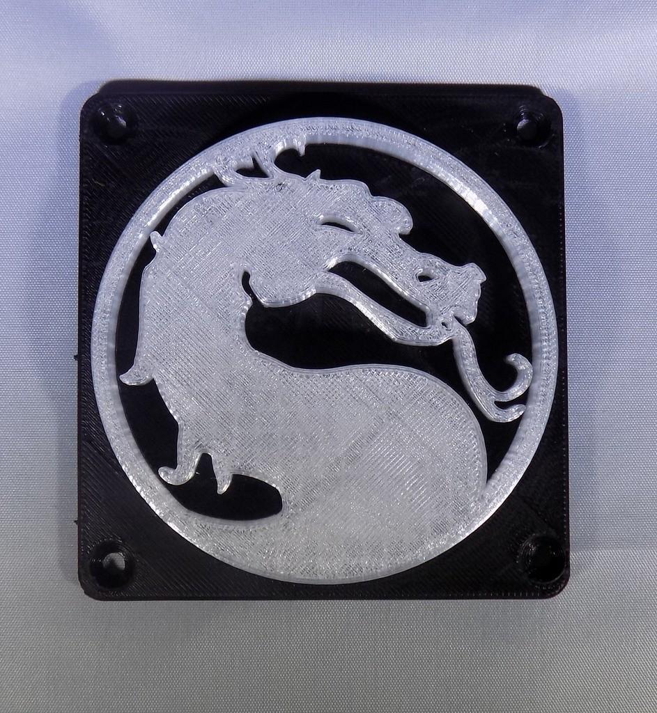 6_display_large.JPG Download free STL file Mortal Kombat LED Light/NightLight • Object to 3D print, Balkhagal4D