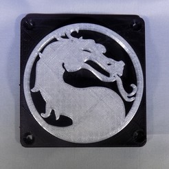 Télécharger fichier STL gratuit Lumière LED Mortal Kombat Light/NightLight • Design pour impression 3D, Balkhagal4D