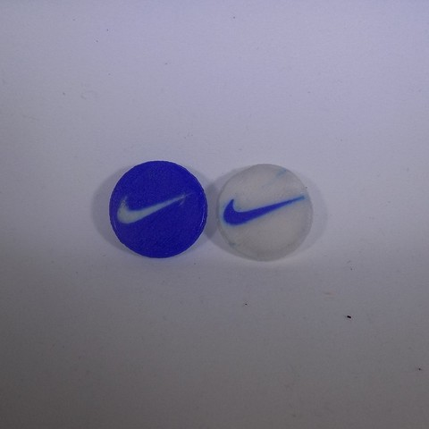2_display_large.JPG Download free STL file NIKE Golf Ball Marker • 3D printing template, Balkhagal4D