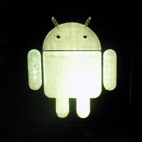 2_display_large.JPG Télécharger fichier STL gratuit Lampe de nuit/lampe de nuit Android Robot LED • Plan à imprimer en 3D, Balkhagal4D