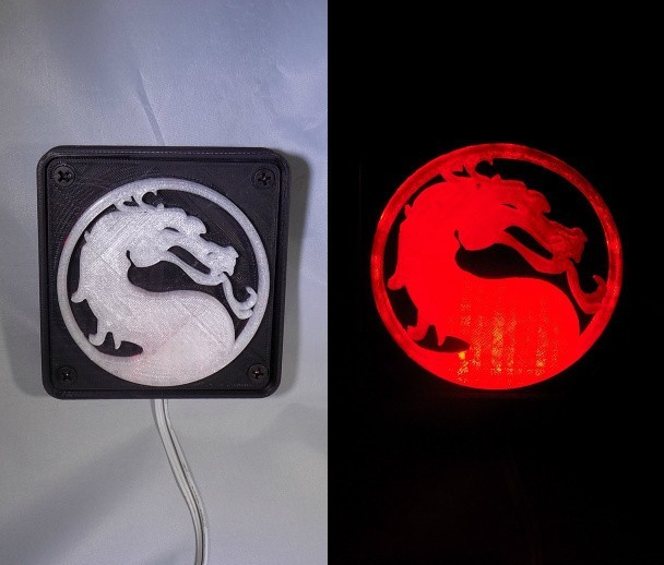 combine_images_display_large.jpg Télécharger fichier STL gratuit Lumière LED Mortal Kombat Light/NightLight • Design pour impression 3D, Balkhagal4D