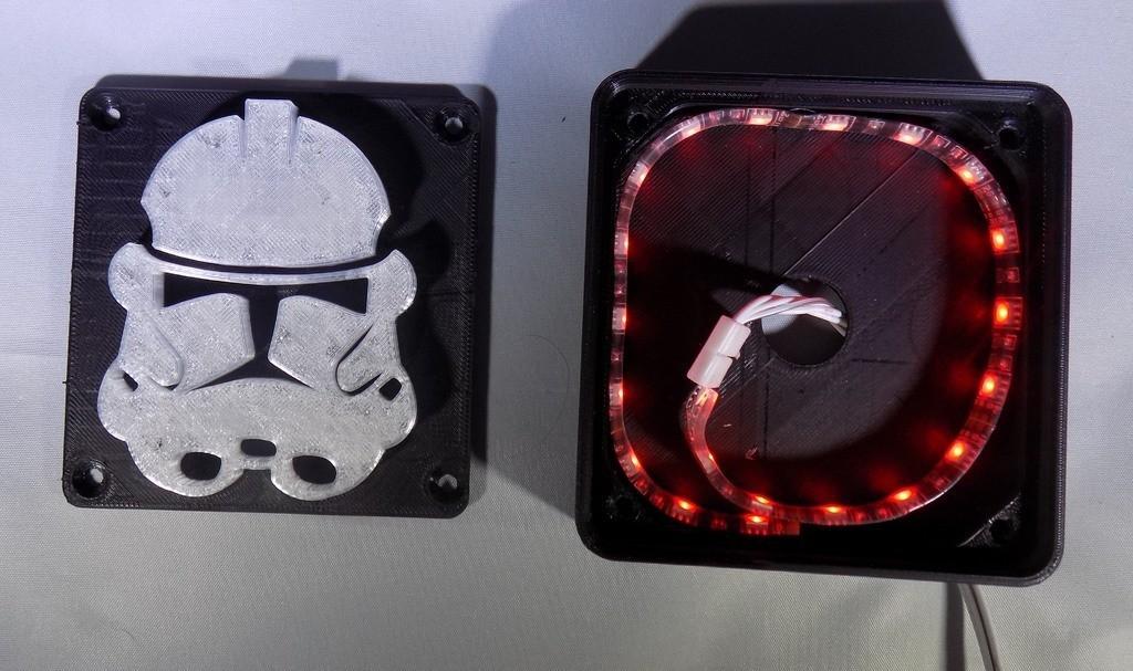 3_display_large.JPG Download free STL file StormTrooper LED Light/Nightlight • 3D print template, Balkhagal4D