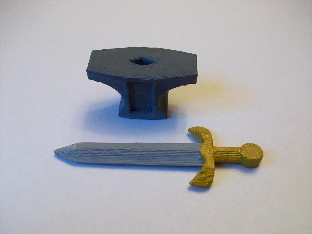 sword_in_the_anvil_pic_2_display_large.JPG Download free STL file Sword in the Anvil • 3D print design, Balkhagal4D