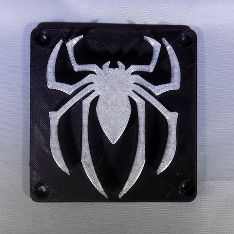8_display_large.JPG Download free STL file SPIDERMAN LED Light/Nightlight • 3D print design, Balkhagal4D